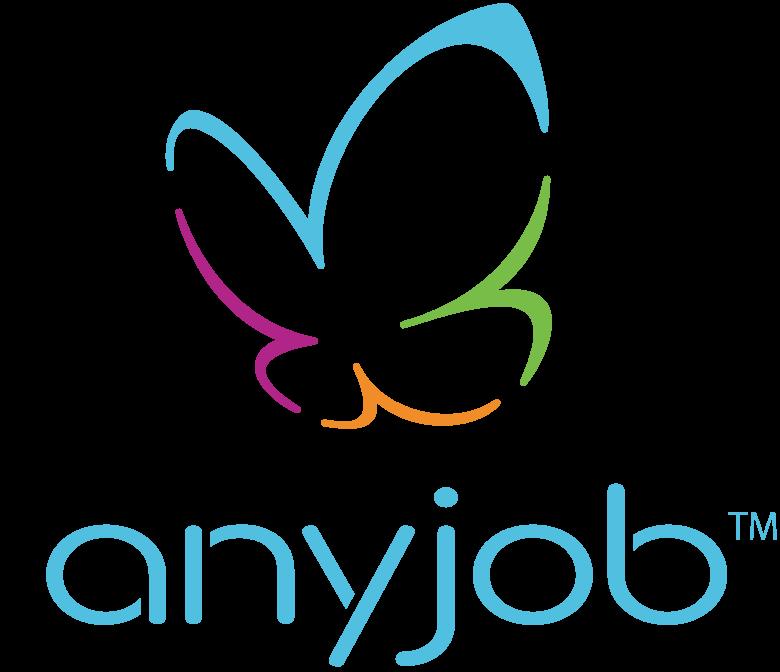 地域密着クラウドソーシング anyjob(エニージョブ)ロゴ